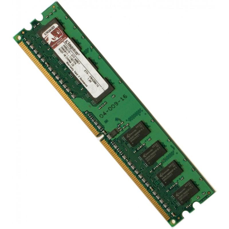 KTH-XW4300//1G Kingston Technology Company Kingston 1GB DDR2 SDRAM Memory Module